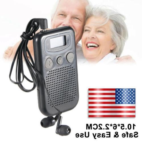 US Personal Ear Hearing Aid Device Booster Sound Magic Heari
