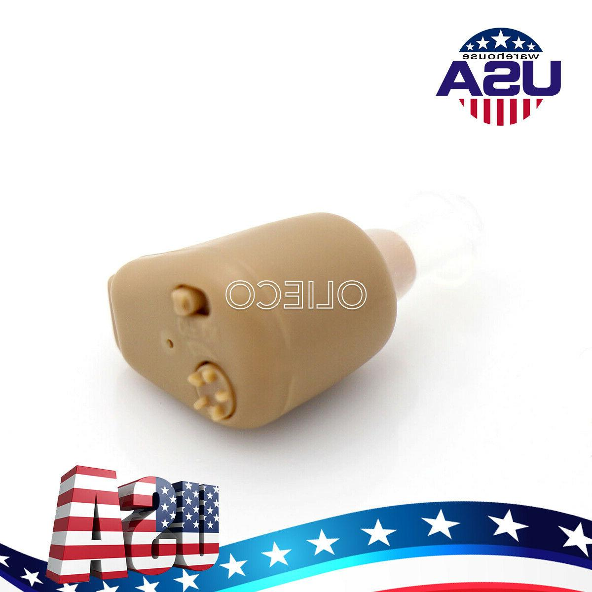 USA ITE Aid In-Ear Hearing Amplifier For