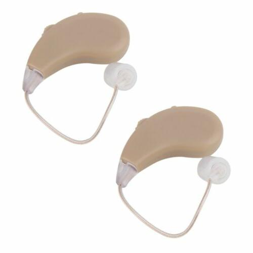 USB Rechargeable Hearing Aids Sound NEW WX