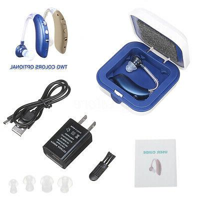 USB Rechargeable bluetooth Digital BTE Hearing Aid