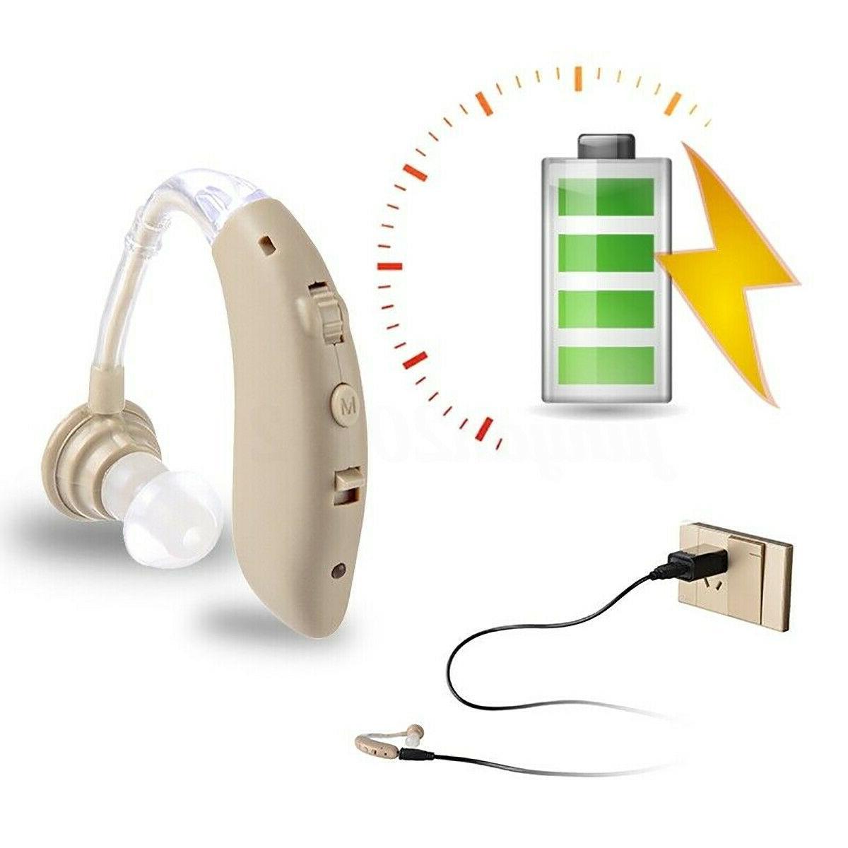 Wireless Digital Hearing Amplifier USB Rechargeable