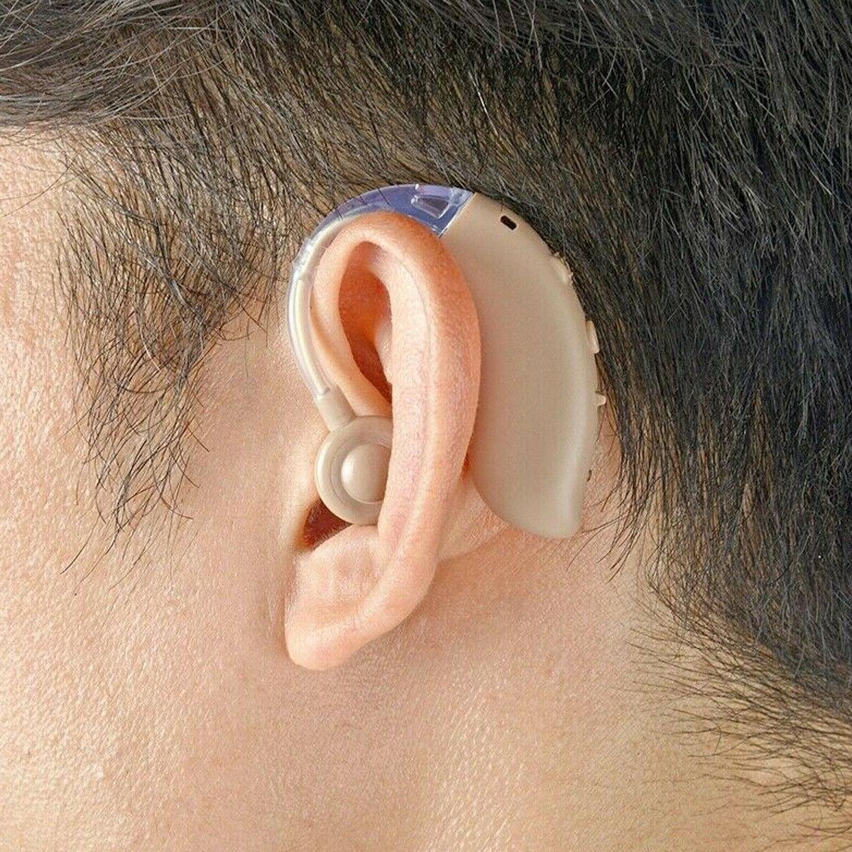 Wireless Hearing Ear Amplifier USB Rechargeable