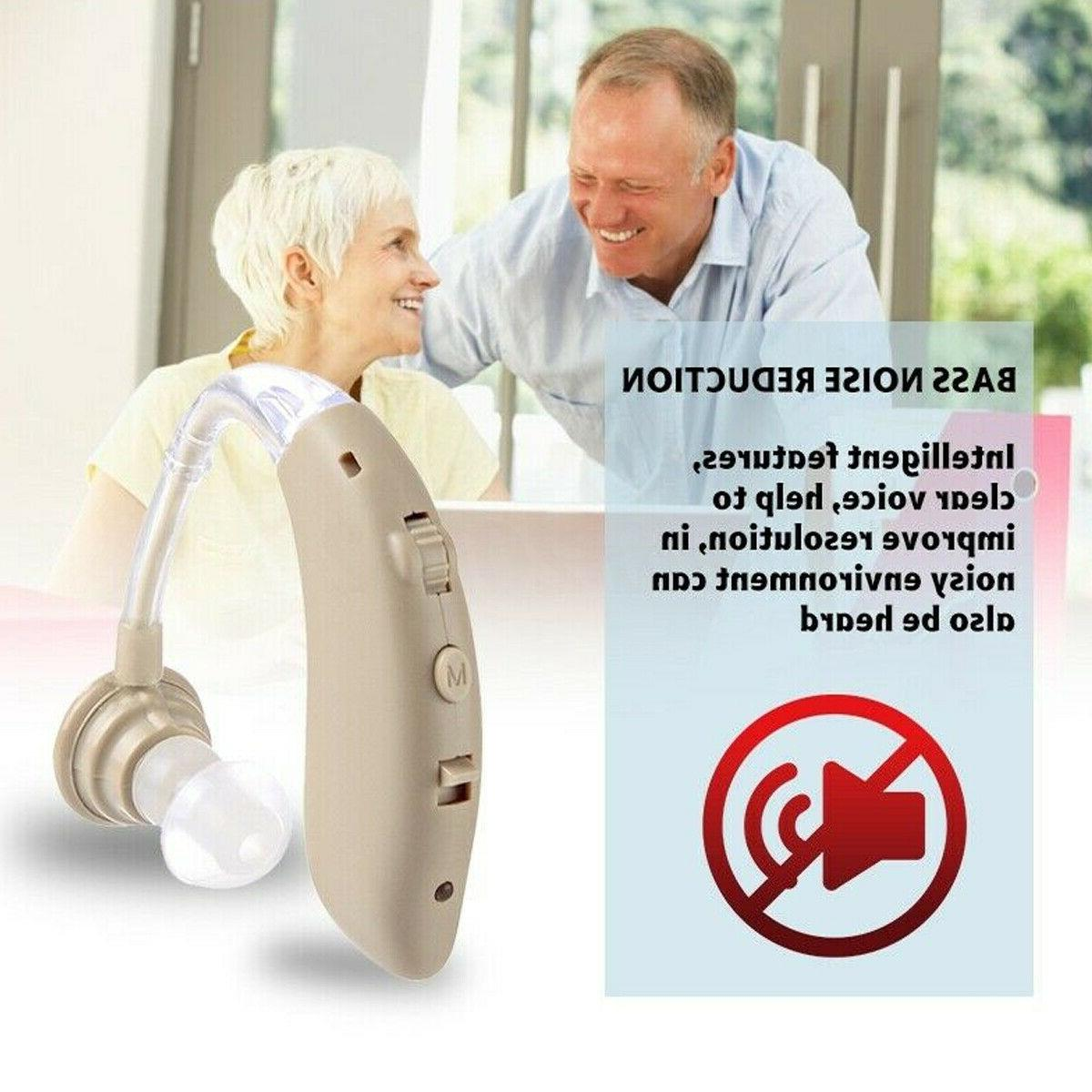 Wireless bluetooth Hearing Sound Amplifier Rechargeable