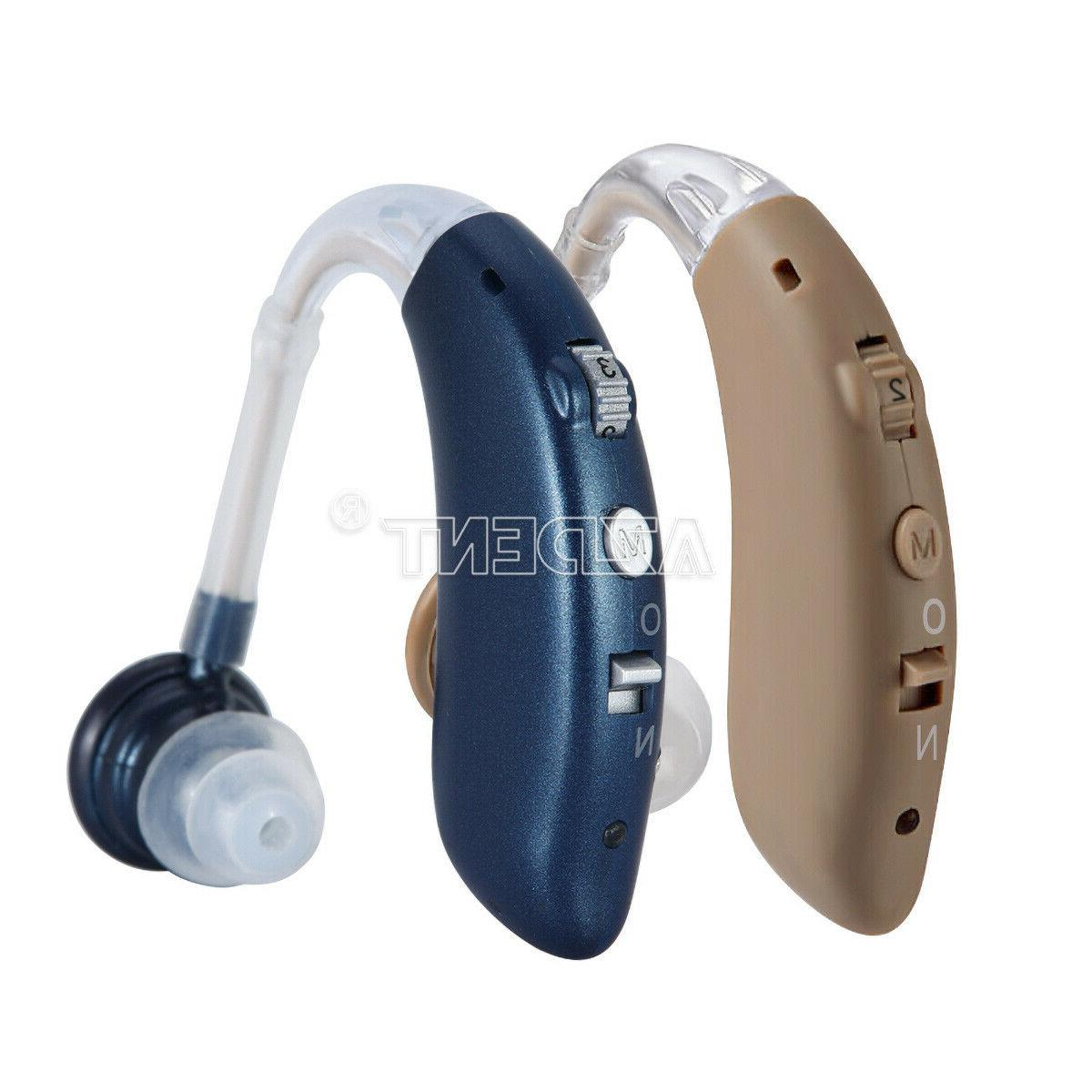 Rechargeable Acousticon Behind Ear Hearing Aid/Aids Audiphon