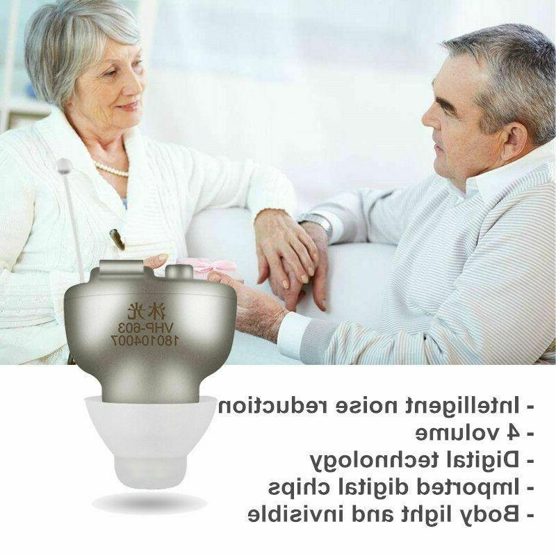 Rechargeable Wireless Hearing Aids Set