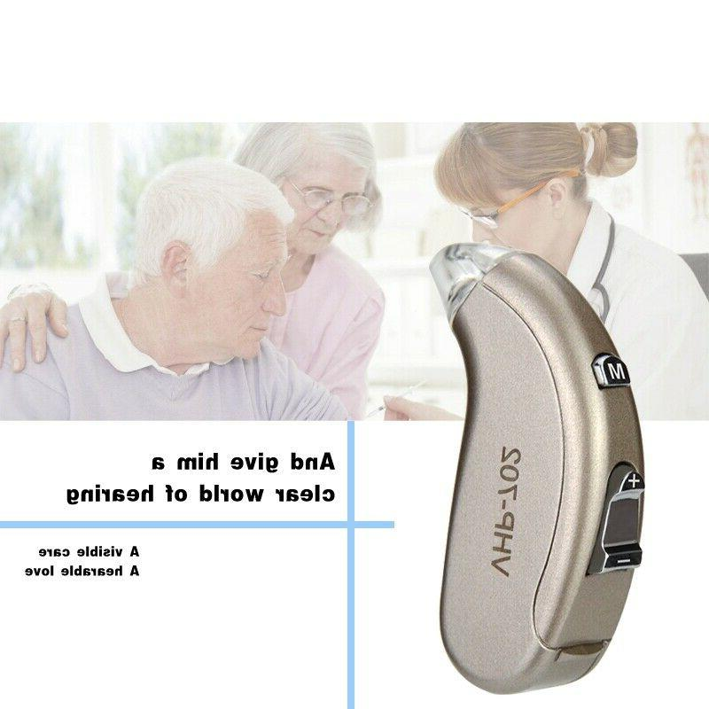 Wireless Digital Hearing Aid Severe Loss Behind The Aids