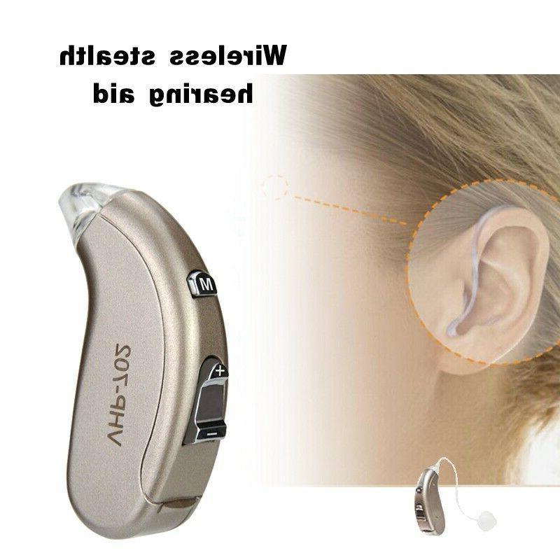 wireless digital hearing aid severe loss invisible