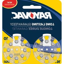 Rayovac L10ZA16ZM 16 Pack Battery for Hearing Aid