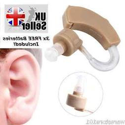 Left Right Hearing Aid Mini Sound Amplifier Behind In Ear Li