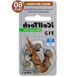 iCellTech MF Zinc Air Hearing Aid Batteries Size 312