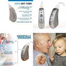 Mini Hearing Amplifier Device For S And Senior, Digital Bte