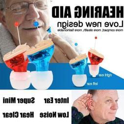 Mini Invisible Digital Hearing Aid CIC Sound Amplifier Reduc