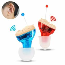 Mini Invisible In Ear Hearing Aid Aids CIC Small Sound Voice