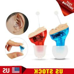 Mini Invisible In Ear Hearing Aid CIC Small Sound Voice Ampl