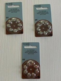 NEW 24 Piece Rayovac Xcell Hearing Aid Batteries Size 312, 8