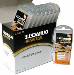 4 x  Pcs Duracell Activair Hearing Aid Batteries Size 13 Exp