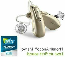 Pair of Bluetooth Phonak Audeo M50R Rechargeable Hearing Aid