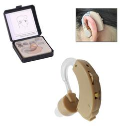 New Digital Rechargeable Ear Hearing Aid BTE Ear Amplifier A