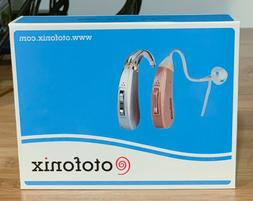 new encore hearing aid amplifier gray left