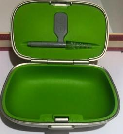 New Phonak Hearing Aid Case LARGER Size With Brush, Cleaning