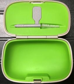 New Phonak Hearing Aid Case Size Large With Brush, Cleaning