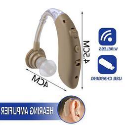 NEW Hearing Digital Wireless Sound Hearing Aid Headset Ear A
