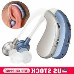 New Rechargeable Digital Hearing Aid Severe Loss BTE Ear Aid
