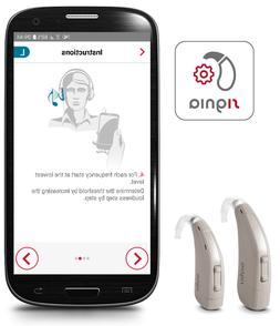 NEW SIEMENS SIGNIA RUN P/SP BTE HEARING AID - SEVERE TO PROF