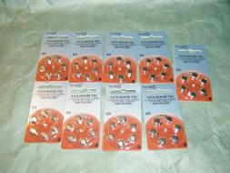 New XCell Hearing Aid Batteries Size 312  - Expiration April