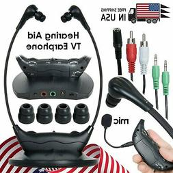 Original Wireless Headsets System TV Hearing Aid TV Hearing