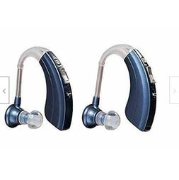 Britzgo Personal Digital Hearing Aid Amplifier BHA-1222 Blue