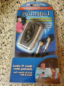 Listen Up, Personal Sound Amplifier As Seen On TV NEW