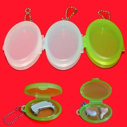 Plastic Hearing Aid Case Storage Bag Box for Hearing Aids Ea