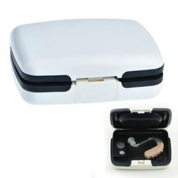 portable bte hearing aid aids storage case carrying box audi