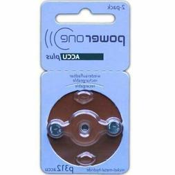 PowerOne ACCU plus Size 312 Rechargeable Hearing Aid Batteri