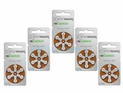 Powerone Hearing Aid size 312 Genuine Batteries German Made,
