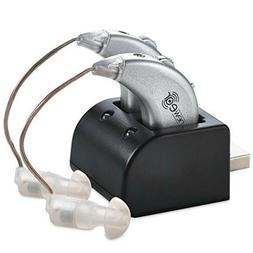 Premium Rechargeable Digital Hearing Aid Amplifier NewEar He
