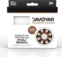Rayovac Proline Advanced Mercury-Free Hearing Aid Batteries