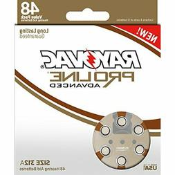 Rayovac Proline Advanced Mercury-Free Hearing Aid Batteries,