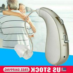 Rechargeable Hearing Aid Digital Severe Loss Invisible BTE E