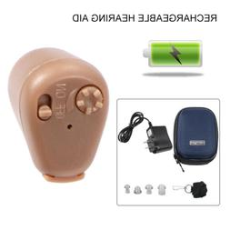 Rechargeable Digital Mini Hearing Aid Adjustable Tone Amplif