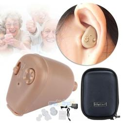 Rechargeable Digital Mini In Ear Hearing Aid Adjustable Tone