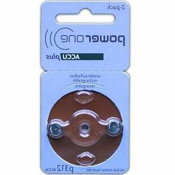 PowerOne Rechargeable Hearing Aid Batteries Size 312  USA SE