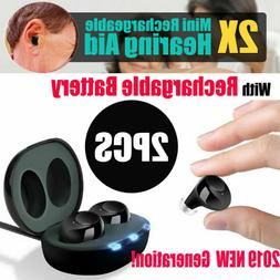 Rechargeable Hearing Aids In the Ear Amplifier Assist Mini S