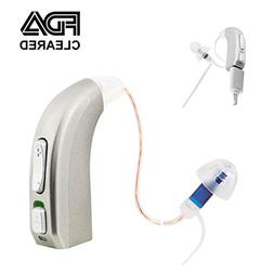rechargeable hearing amplifier devices seniors