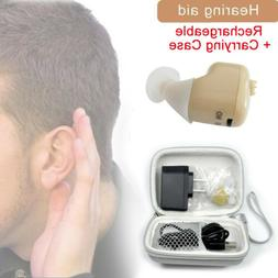 Rechargeable In Ear Hearing Aid Small Invisible Sound Amplif