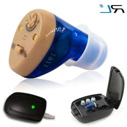rechargeable in the ear hearing aid amplifier