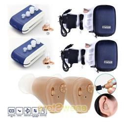 Rechargeable Invisible Wireless Mini Hearing Aid Sound Voice