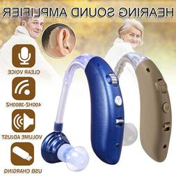 Rechargeable Wireless bluetooth Digital BTE Hearing Ear Aid