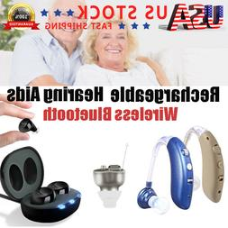 Rechargeable Wireless Bluetooth Hearing Aids Amplifier Assis